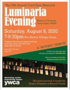 Luminaria Evening @ 19th Annual Carol Dyer Memorial Luminaria Evening